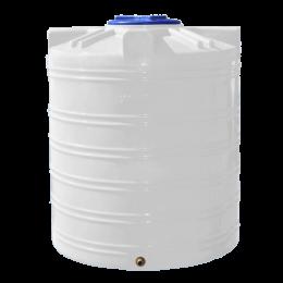 Емкость 1000 литров вертикальная белая