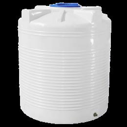 Емкость 1500 литров, белая