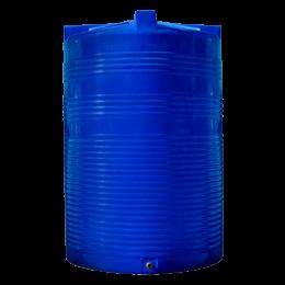 Емкость 9500 литров вертикальная синяя