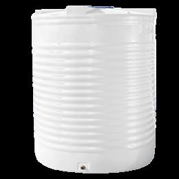 Емкость 12500 литров вертикальная белая