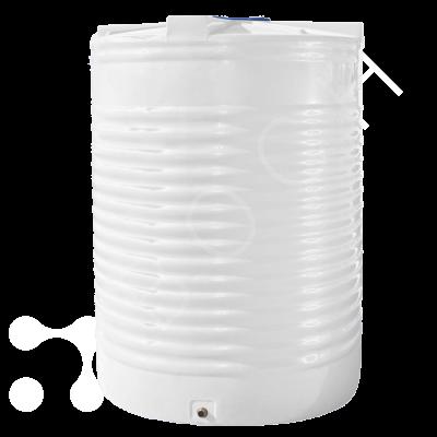 Емкость 15000 литров вертикальная белая