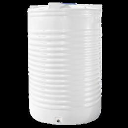 Емкость 17500 литров вертикальная белая