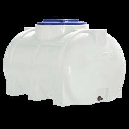 Горизонтальная емкость 250 литров для воды