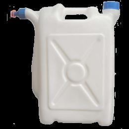 Канистра 20 литров с носиком, пластиковая