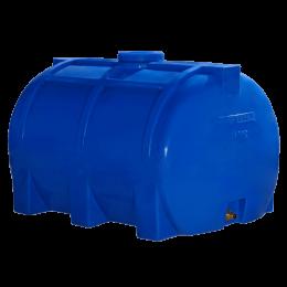 Емкость 200 литров горизонтальная для воды