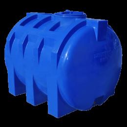 Емкость 1500 литров двухслойная, горизонтальная