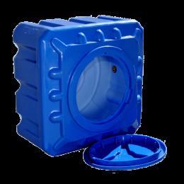 Емкость 100 литров квадратная двухслойная