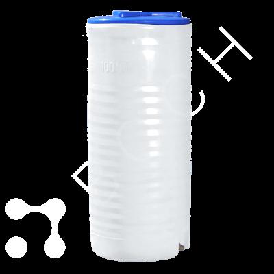 Емкость 100 литров вертиальная пищевая