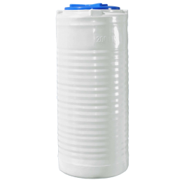 Емкость 200 литров узкая вертикальная