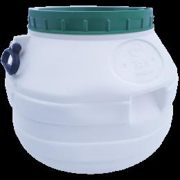Пластиковый бидон 35 литров пищевой