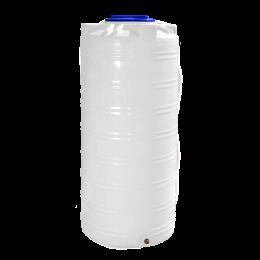 Емкость 750 литров вертикальная белая