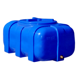 Емкость 100 литров овальная двухслойная
