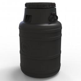 Пластиковый бидон 80 литров, не пищевой