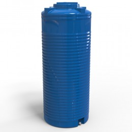 Емкость узкая 500 литров, двухслойная