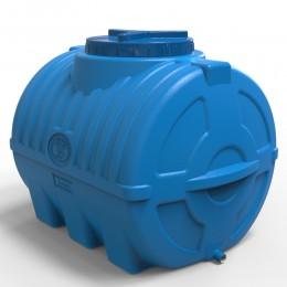 Емкость 200 литров, выдувная синяя