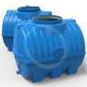 Емкость 300 литров, выдувная синяя